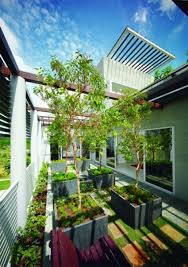 Rooftop Garden Design Fresh Tropical Home Designs With Gardening Ideas Design Decorating