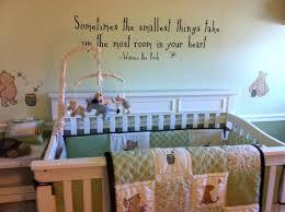 pooh nursery decor classic the bedding org winnie canada