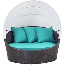 ryele canopy outdoor patio daybed with cushions u0026 reviews birch lane