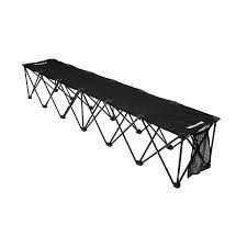 Athletic Benches Amazon Com Insta Bench Classic 6 Seater Bench Black Sports