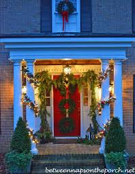 Christmas Decorations Outdoor Columns by How Much Does It Cost To Build Or Add On A Front Porch