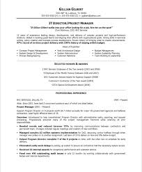 It Manager Resume Examples by It Director Resume Samples U0026 Examples