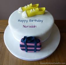birthday cake for nuraddin