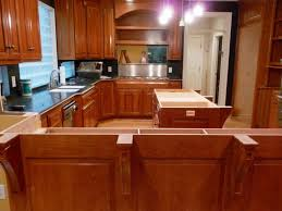 kitchens during build robert furr cabinetry