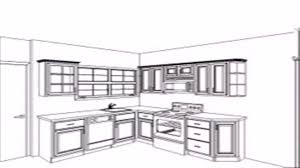 floor plan kitchen layout youtube