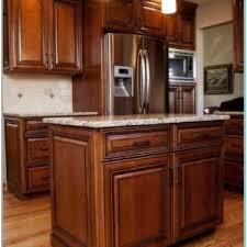 staining kitchen cabinets darker for elegant kitchen