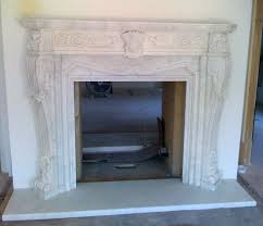white marble hand carved decorative fireplace mantel u2013 artisan kraft