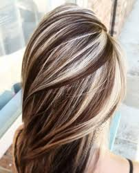 blonde high and lowlights hairstyles trendy hair highlights coffee and cream lowlights and