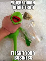 Business Meme Generator - mind your own businesd you re damn right frog it isn t your