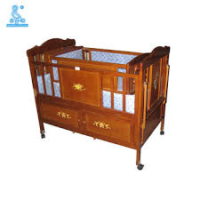 Folding Baby Bed New Designs Fabric Solid Wooden Folding Baby Cot Bed Buy Folding