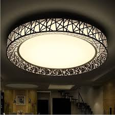 luminaire plafond chambre moderne led plafond lumières pour chambre salon métal luminaire