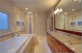Master Bathroom Ideas Houzz Modern Style New Master Bathrooms Come With White Ceramic Bathtub