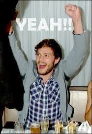 Jamie Meme - jamie dornan meme to use whenever you have some good news to
