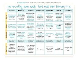 bi weekly whole food meal plan february 2 u201315 u2014 the better mom