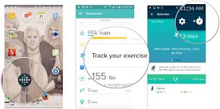 track android how to use the dashboard in fitbit for android android central