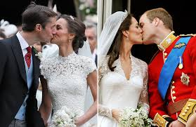 Middleton Pippa Do Pippa And James Or Kate And Will Have The Best Newlywed Kiss