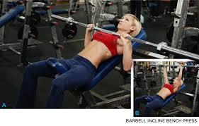 Incline Bench Technique Incline Barbell Bench Press Chest Exercises Best Chest Exercises
