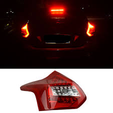 2014 ford focus tail light new led rear lights kit modification car styling for ford focus 3