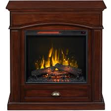 Lowes Outdoor Fireplace by Shop Style Selections 36 5 In W 5 200 Btu Warm Cherry Wood Veneer