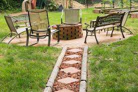 fire pit made of bricks check out this fire pit made with free bricks and an old chimenea
