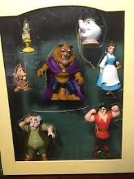 disney storybook ornament set and the beast ebay