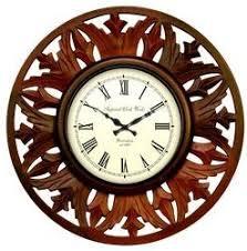 wooden clock manufacturers u0026 suppliers of lakdi ki ghadi