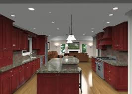 Kitchen Island Red Gorgeous Rectangle Shape Two Tier Kitchen Island Come With A Half