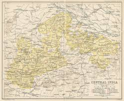 Uchicago Map Whkmla Historical Atlas Madhya Pradesh Page