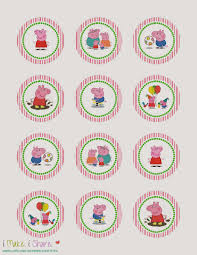 share peppa pig cupcake template classroom ideas