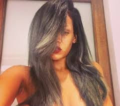 Hair Color To Cover Gray Rihanna Grey Hair Singer Debuts Icy New Hue U0027 Brrr U0027 And Declares