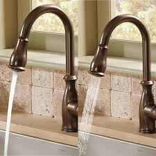 moen brantford kitchen faucet moen 7185c brantford one handle high arc pull down kitchen faucet