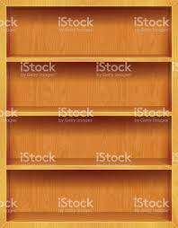 wooden bookshelves background stock vector art 156915619 istock