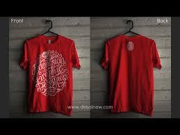t shirt design erstellen tutorial mockup t shirt design in gimp