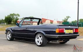 bmw e30 320i manual convertible cabriolet stunning show