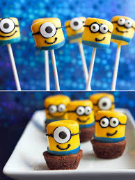 minions party ideas marshmallow minions party ideas