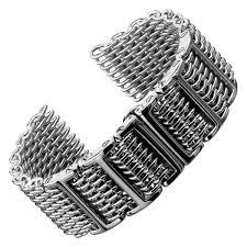 mesh steel bracelet images Butterfly h link shark mesh geckota watchgecko jpg