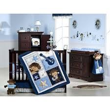 Baby Boy Monkey Crib Bedding Sets Baby Blue Bedroom Set Downloadcs Club