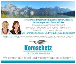 Immobiliensuche Sie Wollen Verkaufen Immobilien Koroschetz