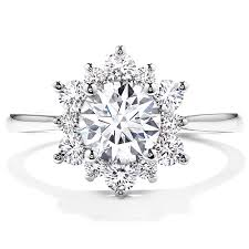 sunflower engagement ring antique jewelry is sometimes the best engagement ring