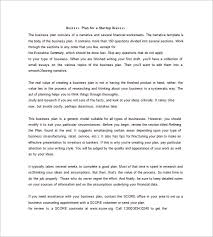 business plan example sample business plan welcome to