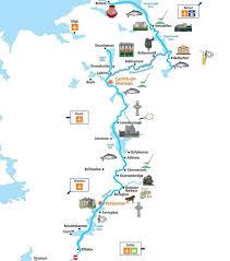 Ireland Location In World Map by Boating Holidays Ireland Canal Boat Hire Ireland Emerald Star