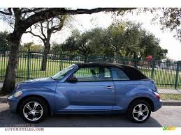 2006 chrysler pt cruiser gt convertible in marine blue pearl photo
