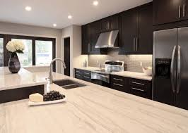 Kitchen Cabinets Kitchen Countertop Tile by Amazing Contemporary Kitchen Design With Espresso Stained Kitchen