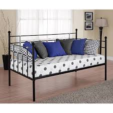 Queen Size Daybed Frame Bedroom Mesmerizing Metal Daybed With Simple Styling U2014 Gasbarroni Com