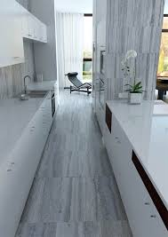 Travertine Kitchen Floor by Kitchen Floor And Walls In Italian Silver Travertine Around The