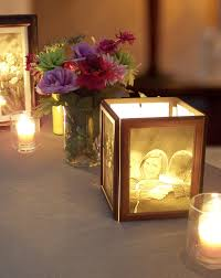photo centerpieces how to make photo centerpieces with candles