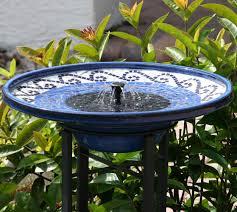 fresh solar bird baths at home depot 13420