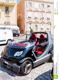 mini smart cabriolet car in monaco france editorial stock image