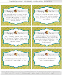 30 thanksgiving facts free printables for thanksgiving