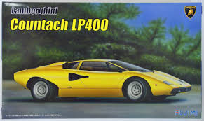 lamborghini countach kit car fujimi em26 lamborghini countach lp400 1 24 scale kit plaza